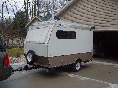 Tear Drop Trailers and My Story Homemade Camper